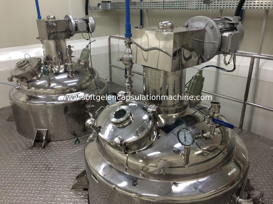 ointment emulisifier,vacuum emulsifying mixer, blending